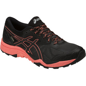 asics Gel-Fujitrabuco 6 G-TX Shoes Women Black/Begonia Pink/Black